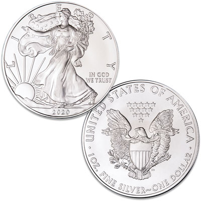 Image for 2020 $1 Silver American Eagle from Littleton Coin Company