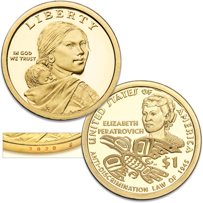 Image for 2020-S Native American Dollar from Littleton Coin Company