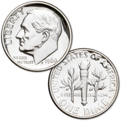 Image for 1960 Roosevelt Silver Dime from Littleton Coin Company