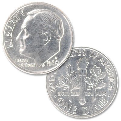 Image for 1968-D Roosevelt Dime from Littleton Coin Company