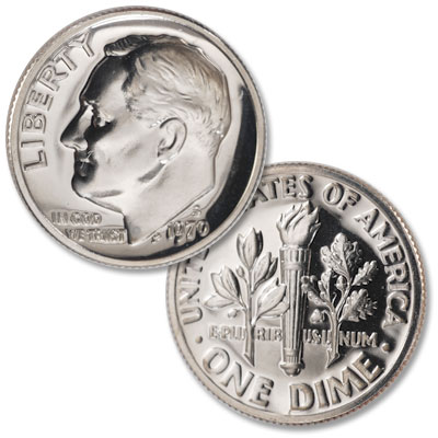 Image for 1970-S Roosevelt Dime from Littleton Coin Company