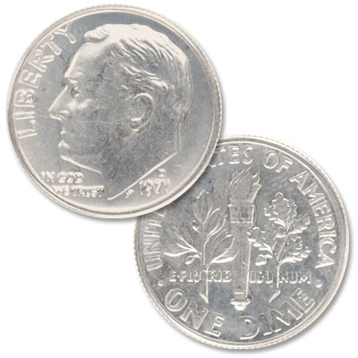 Image for 1971-D Roosevelt Dime from Littleton Coin Company