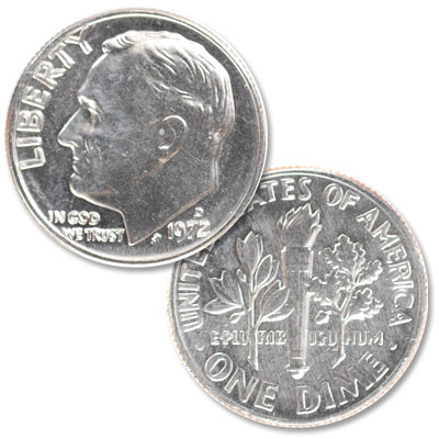 Image for 1972-D Roosevelt Dime from Littleton Coin Company