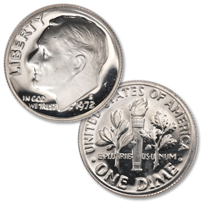 Image for 1972-S Roosevelt Dime from Littleton Coin Company