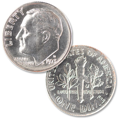 Image for 1973-D Roosevelt Dime from Littleton Coin Company