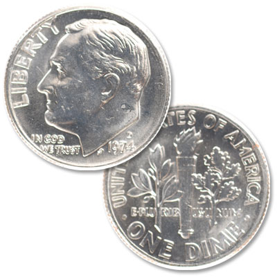 Image for 1974-D Roosevelt Dime from Littleton Coin Company