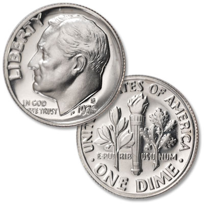 Image for 1974-S Roosevelt Dime from Littleton Coin Company