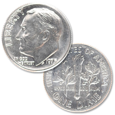 Image for 1975 Roosevelt Dime from Littleton Coin Company