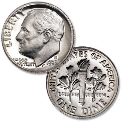 Image for 1975-S Roosevelt Dime from Littleton Coin Company