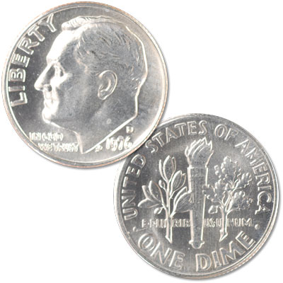 Image for 1976-D Roosevelt Dime from Littleton Coin Company