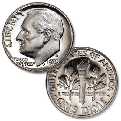 Image for 1976-S Roosevelt Dime from Littleton Coin Company