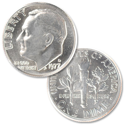 Image for 1977-D Roosevelt Dime from Littleton Coin Company