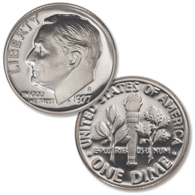 Image for 1977-S Roosevelt Dime from Littleton Coin Company