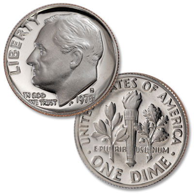 Image for 1978-S Roosevelt Dime from Littleton Coin Company