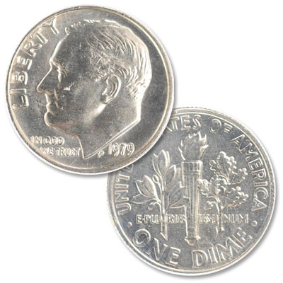Image for 1979 Roosevelt Dime from Littleton Coin Company