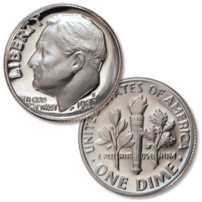 Image for 1980-S Roosevelt Dime from Littleton Coin Company