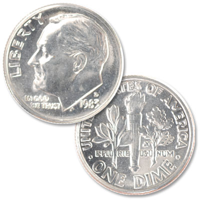 Image for 1983-D Roosevelt Dime from Littleton Coin Company