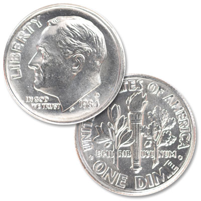 Image for 1984-D Roosevelt Dime from Littleton Coin Company