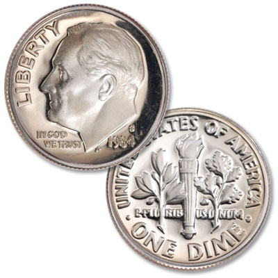 Image for 1984-S Roosevelt Dime from Littleton Coin Company