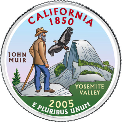 Image for 2005 Colorized California Statehood Quarter from Littleton Coin Company