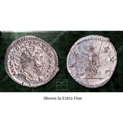 Image for A.D. 260-269 Postumus Silver Antoninianus from Littleton Coin Company