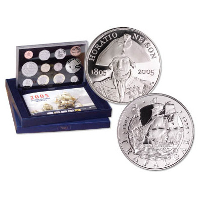 Image for 2005 United Kingdom Proof Set (12 coins) from Littleton Coin Company