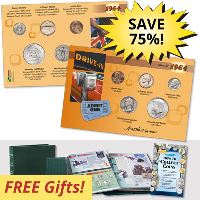Image for America Revisited: Coins, People & History Club from Littleton Coin Company