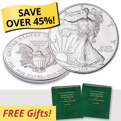 Image for American Eagle Silver Dollar Club from Littleton Coin Company