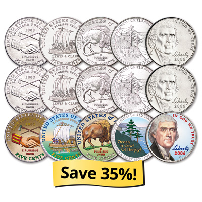 Image for U.S. Nickel Collection from Littleton Coin Company