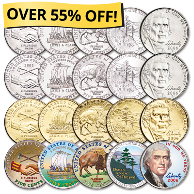 Image for U.S. Nickel Collection Club from Littleton Coin Company