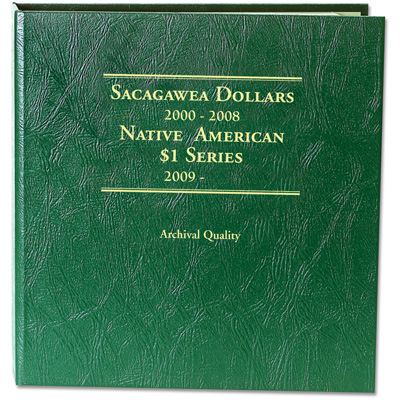 Image for 2000-Date Sacagawea Dollar Album from Littleton Coin Company