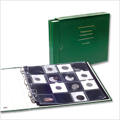 "Image for Collection Portfolio for 2"" x 2"" Holders from Littleton Coin Company"