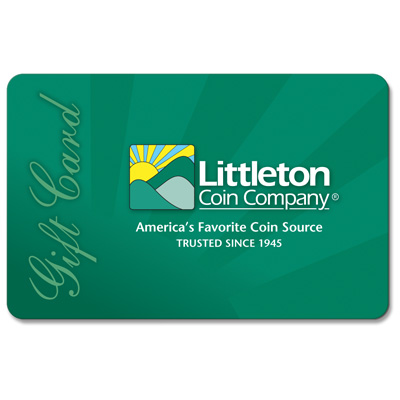 Image for Littleton Gift Card from Littleton Coin Company