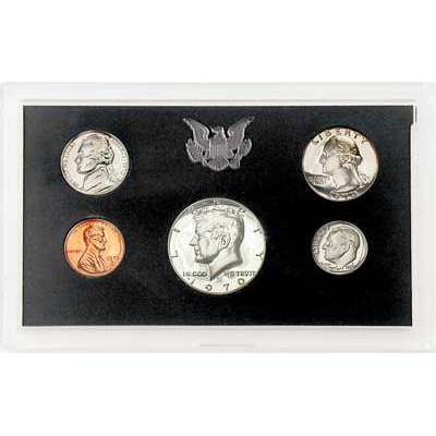 Image for 1970-S U.S. Mint Clad Proof Set, (5 coins), Choice Proof, PR63 from Littleton Coin Company