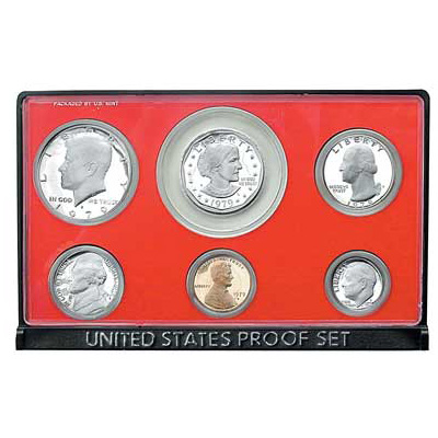 Image for 1979-S U.S. Mint Clad Proof Set, T2 Clear