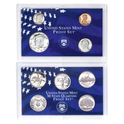 Image for 1999-S U.S. Mint Clad Proof Set (9 coins), Choice Proof, PR63 from Littleton Coin Company