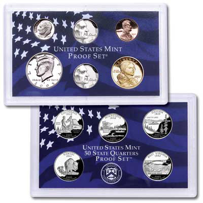 Image for 2005-S U.S. Mint Clad Proof Set (11 coins), Choice Proof, PR63 from Littleton Coin Company