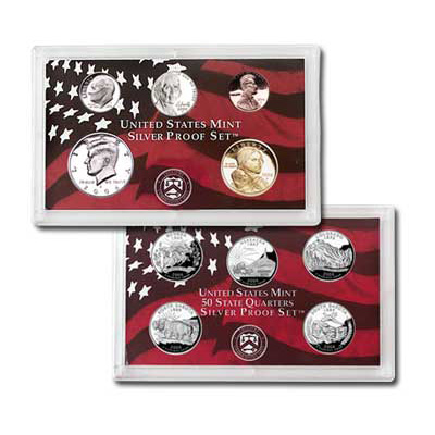 Image for 2006-S U.S. Mint Silver Proof Set (10 Coins), Choice Proof, PR-63 from Littleton Coin Company