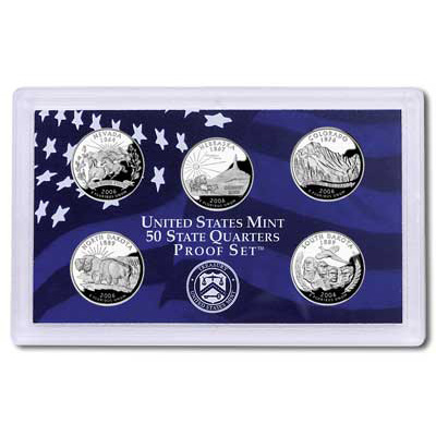 Image for 2006-S U.S. Mint Statehood Quarters Clad Proof Set (5 coins), Choice Proof, PR63 from Littleton Coin Company