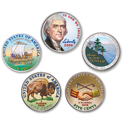 Image for 2004-2006 Colorized Set (5 coins) from Littleton Coin Company