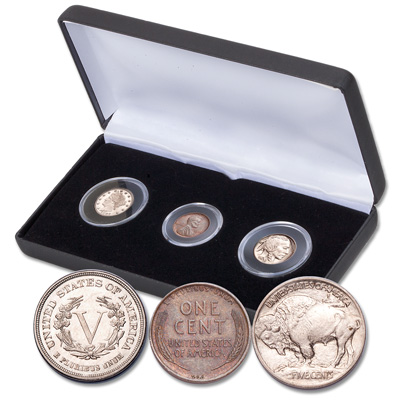 Image for First Year Varieties Set with Case from Littleton Coin Company