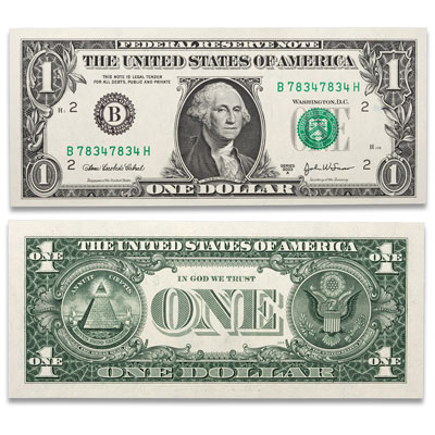 Image for $1 Federal Reserve Repeater Note, Choice Crisp Uncirculated from Littleton Coin Company
