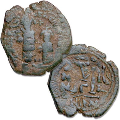 Image for A.D. 610-641 Heraclius from Littleton Coin Company