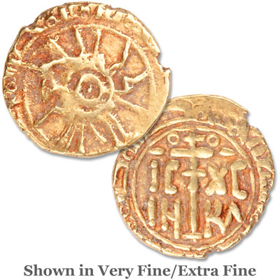 Image for 12th Century Norman Crusader Gold Tari from Littleton Coin Company