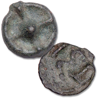 Image for 5th-4th B.C. Thrace Istros Bronze Wheel Money from Littleton Coin Company