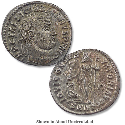 Image for A.D. 308-324 Licinius I Bronze Follis from Littleton Coin Company