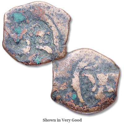 Image for 40-4 B.C. Herod I Bronze Prutah, Tripod from Littleton Coin Company