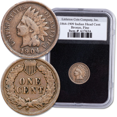 Image for 1864-1909 Indian Head Cent from Littleton Coin Company