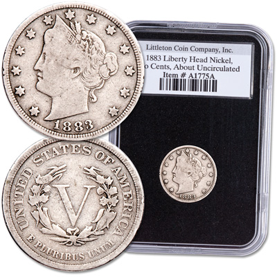 Image for 1883 Liberty Head Nickel from Littleton Coin Company