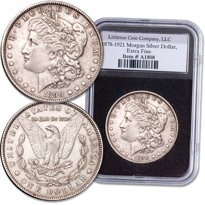Image for 1878-1921 Morgan Dollar from Littleton Coin Company